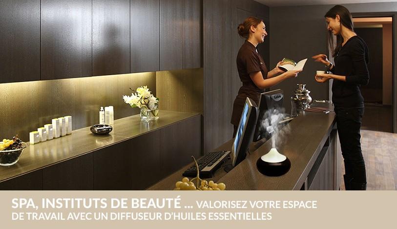 Professionnels : valorisez votre espace de vente et de travail avec un diffuseur d'huiles essentielles